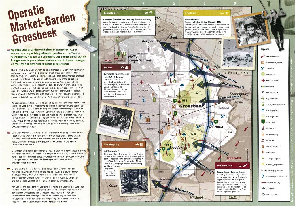 Kaart gemaakt iov gemeente Groesbeek